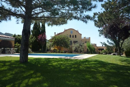 Villa swimming-pool . Priorat-Salou - Montblanc - Villa