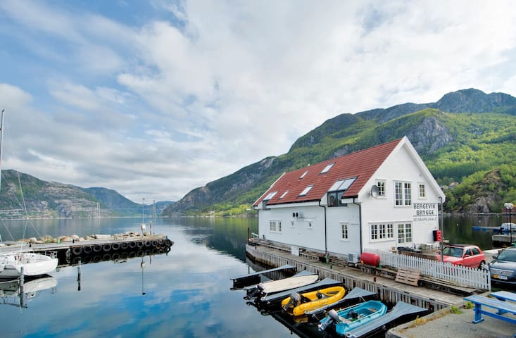 Leilighet ved Lysefjorden, Bergevik - Forsand - Apartmen