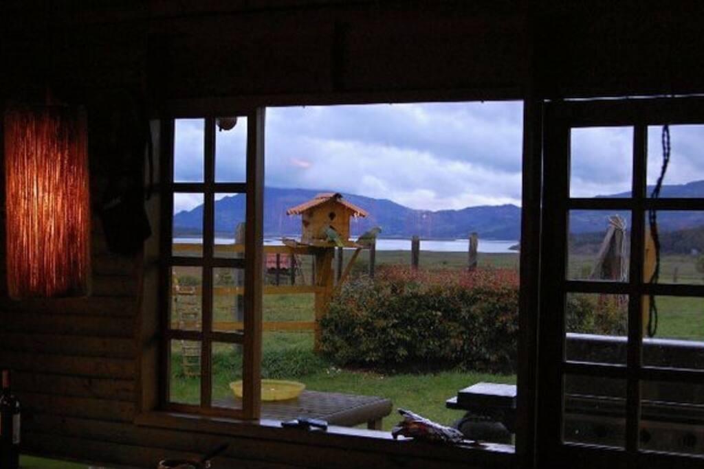 Vista sala a la Laguna de Guatavita.