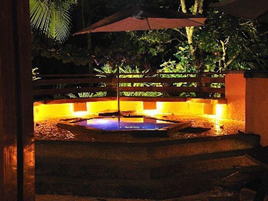 Beachfront Jungle Villa & Gazeebo
