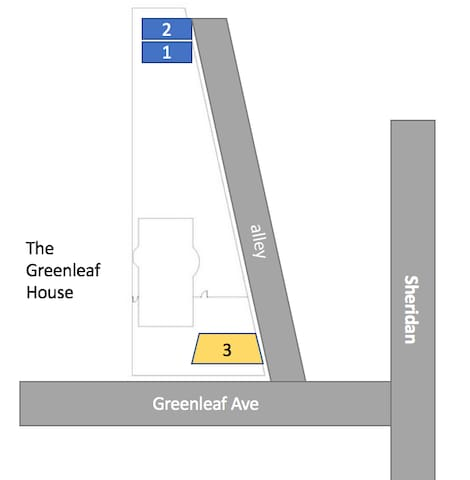 The Greenleaf house - Parking Space #3