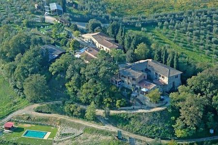 Casa con  terrazza panoramica . - Siena - House
