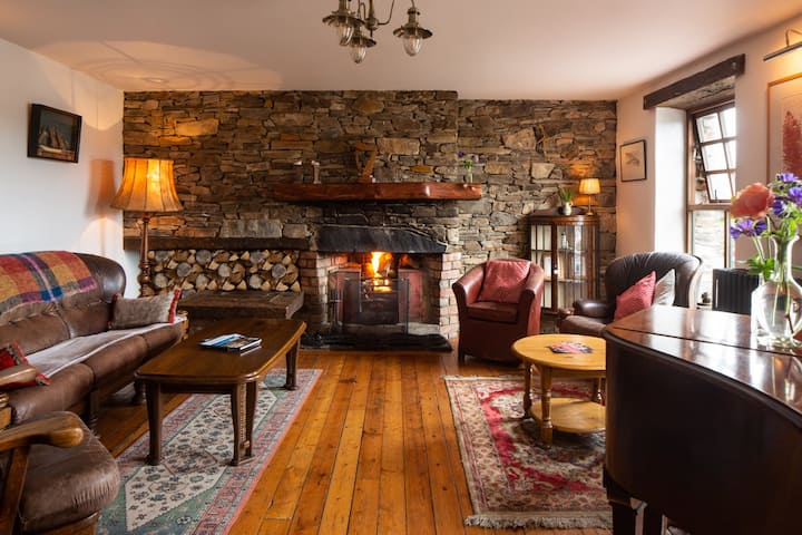 18th Century Millhouse in Donegal - SLEEPS 33 ppl