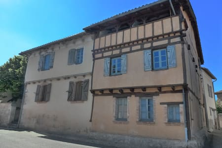 Lovely timbered house in the Quercy - Hus