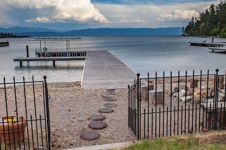 Lakefront Retreat-Views-WorkSpaces-Comfort-Firepit