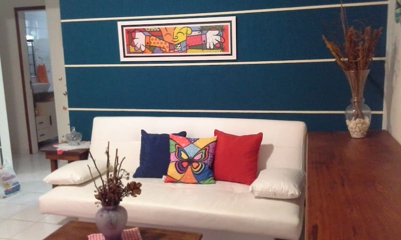 Apartamento em condomínio fechado - Rio das Ostras - Leilighet