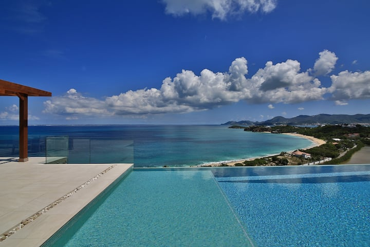 Coveted New Villa in St. Martin! Stunning Views!