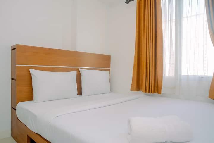 Comfortable & Fully Furnished 2BR Bassura City Apt