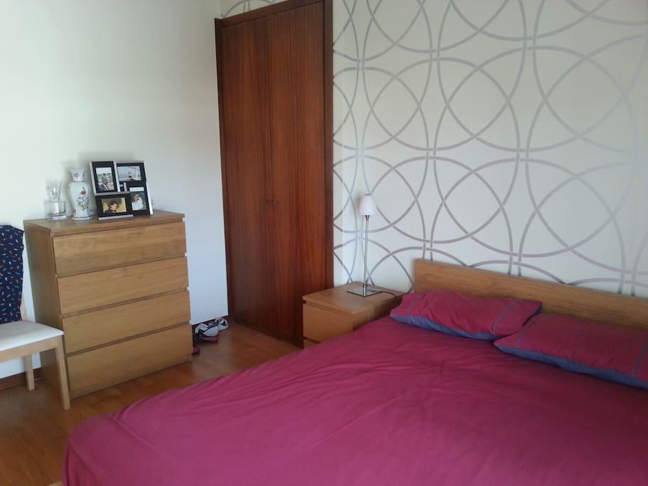 quarto casal com suite