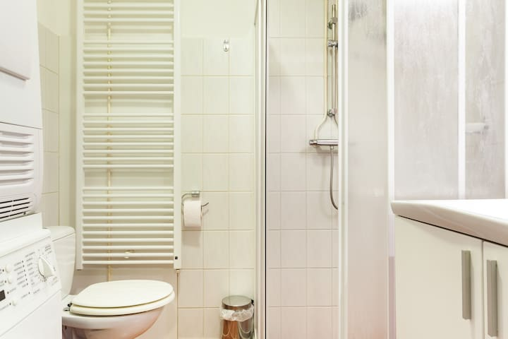 bathroom and toilet for you. I have 2 rooms for airbnb... you share this with one guest