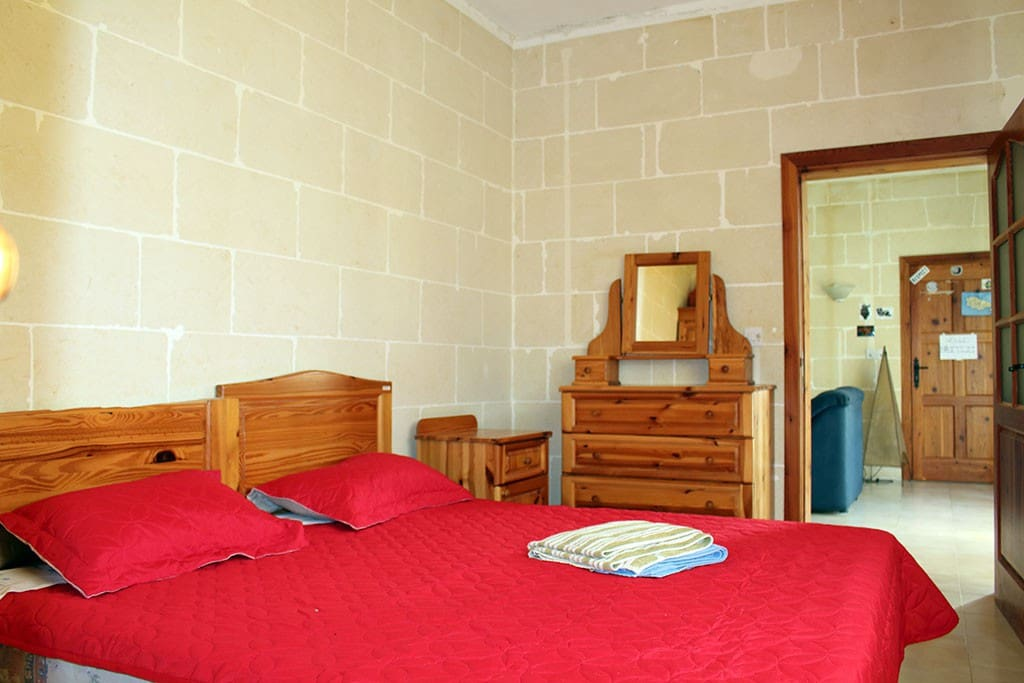 The double room with Shower ensuite, and private toilet in the main bathroom.