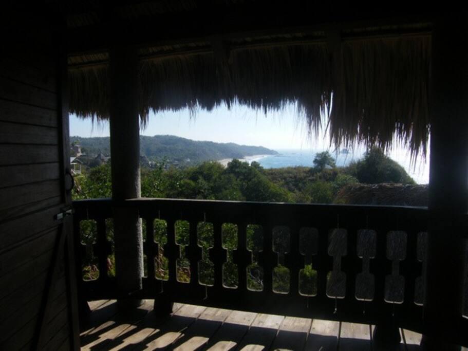 Main bedroom terrace