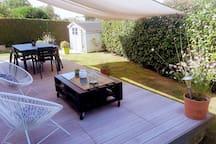 salon de jardin d'été