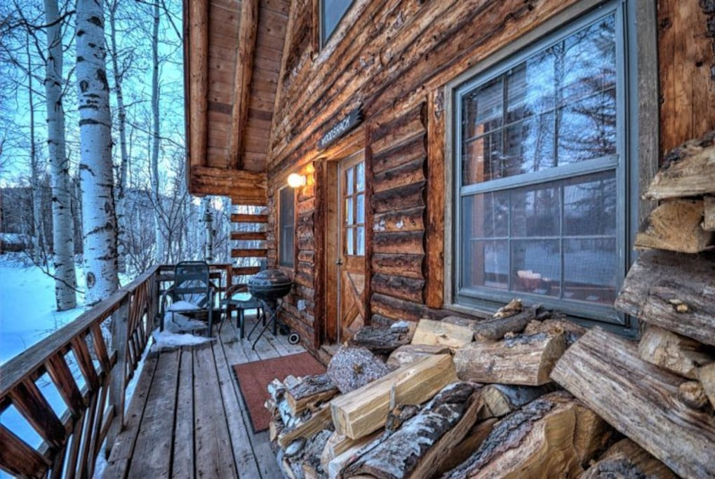 Perry mansfield woodshack cabin cabins for rent in for Cabins in steamboat springs