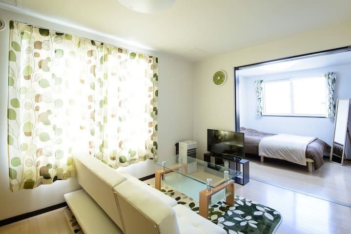 S102 Friendly host  Free pick up cozy apartment - Chuo Ward, Sapporo - Apartment