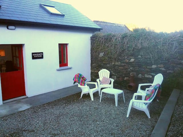 Sergeants Cottage Fáilte Ireland approved.