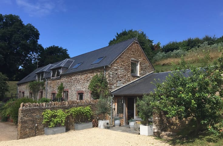 South Hams nr beaches & Dartmoor (sleeps 11) - Harberton - Rumah
