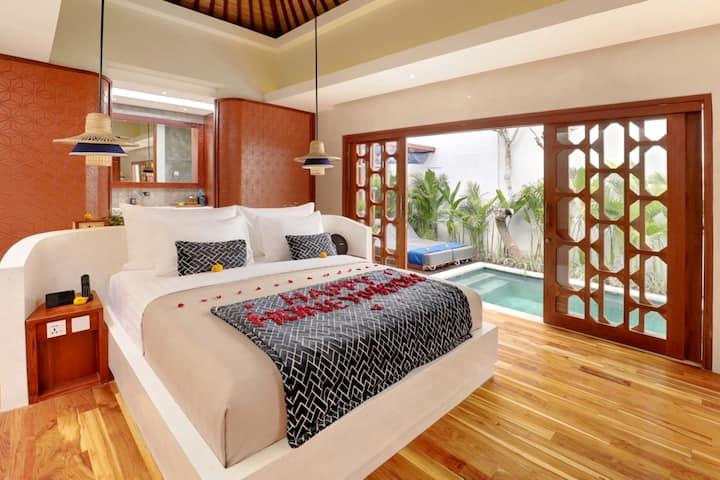 HONEYMOON One Bedroom Villa Ubud AV