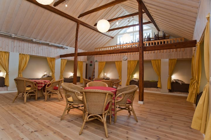 Stay in a charming barn