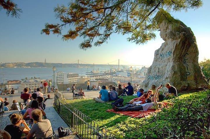 Bica's Flat  (Bairro alto) - Lisboa - Apartemen