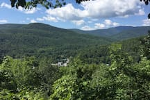A view from Phoenicia overlook