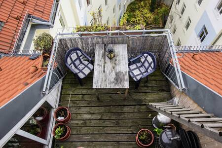 Above the roofs of Berlin - Berlin - Apartment