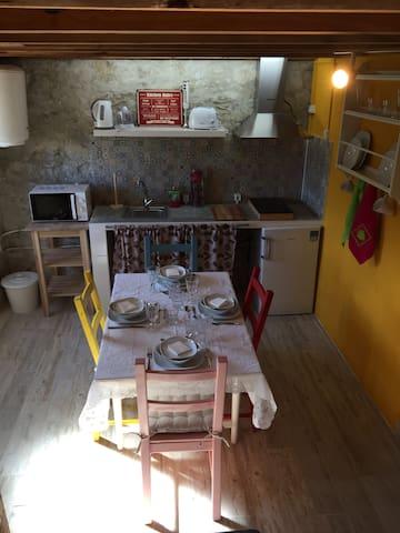 Cozinha pronta para a refeição!