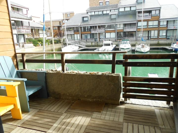 47-sq.-meter appartment in the heart of the marina