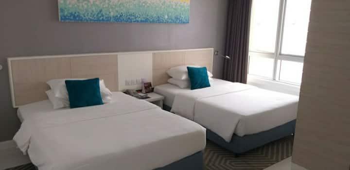 云顶高原第一酒店豪华俱乐部家庭客房First World Hotel World Club Room