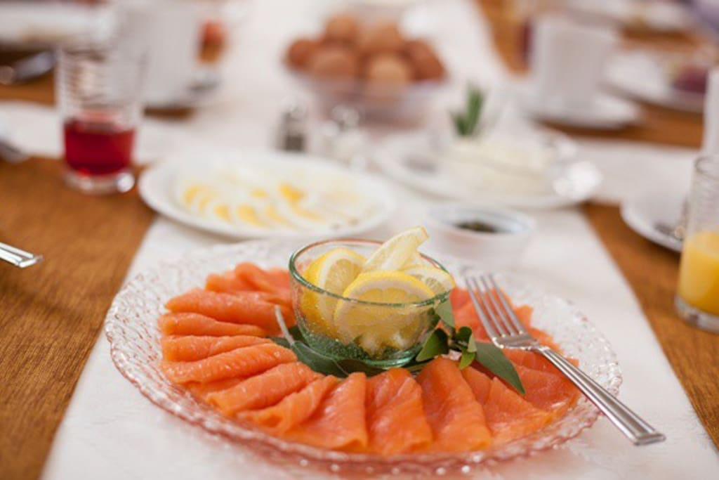 A breakfast buffet is included daily with your stay.
