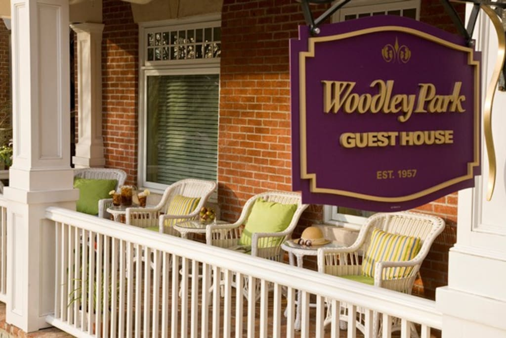 Welcome to Woodley Park Guest House. A Full service bed and breakfast in Washington DC.