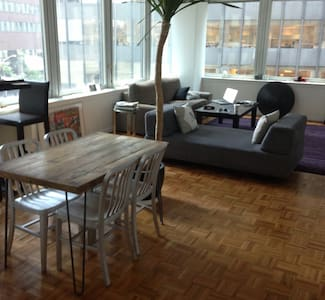 Modern 1000 sqf LOFT with a view  - New York - Apartment