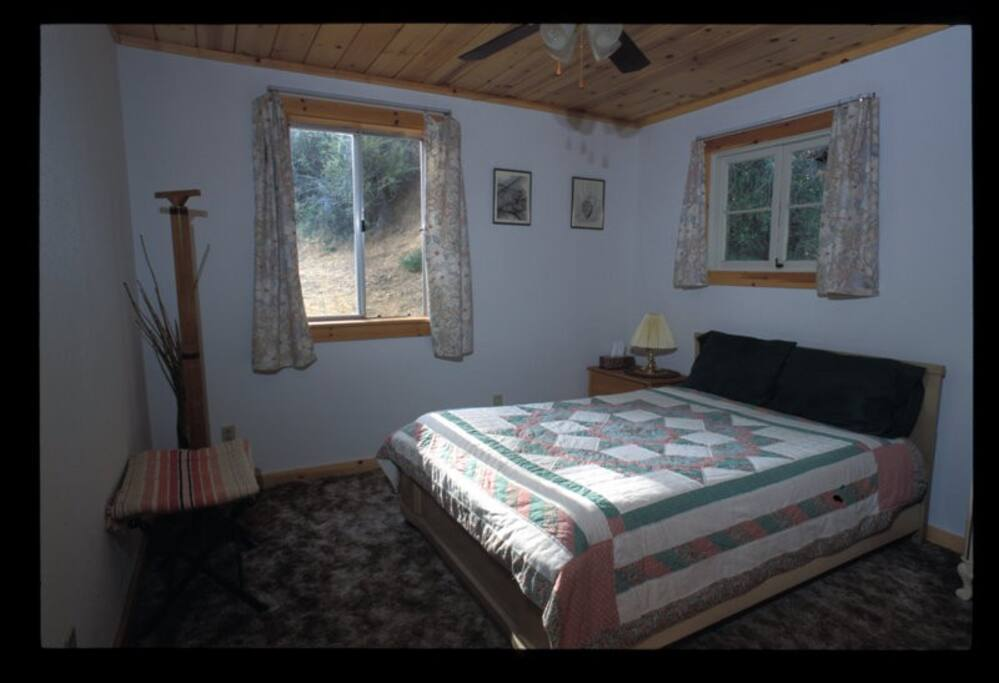 one of the back bedrooms