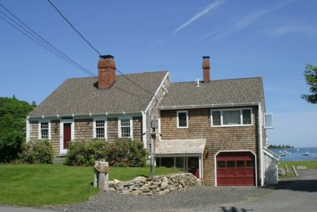 The Tides at Tenants Harbor, Maine.  A classic 3 story New England style cape!