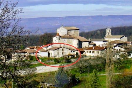 Gîte de caractère dans un petit village médiéval - Saint-André-en-Royans - 산장
