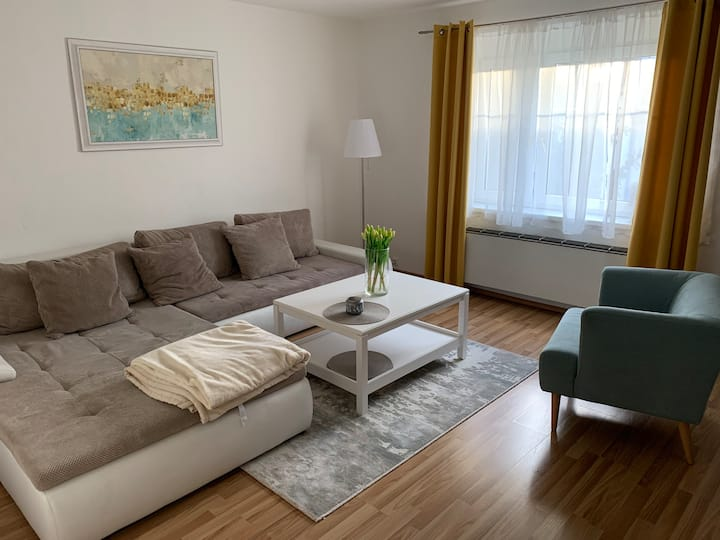 CLEAN FLAT * 15 min from center  * up for 4 people