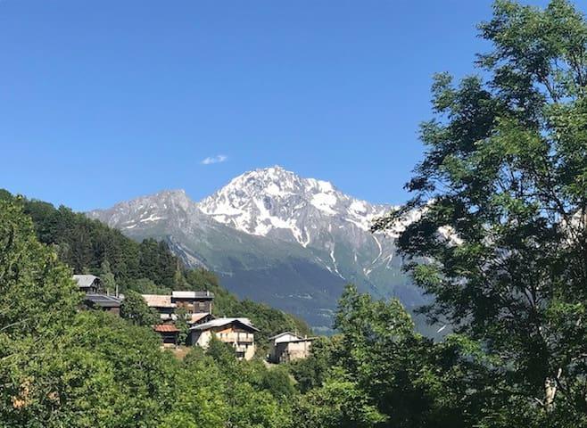 Chambre face aux 3 vallées
