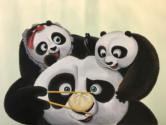 Panda @ KiddyPalace near LEGOLAND Malaysia