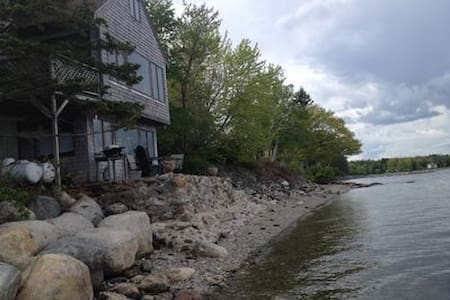 Beach Cottage With Views Of Acadia National Park