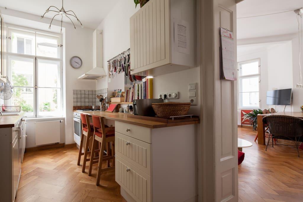 Küche / Offener Wohnbereich