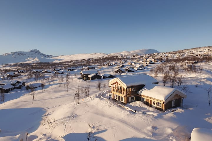 Premium mountain lodge with amazing views