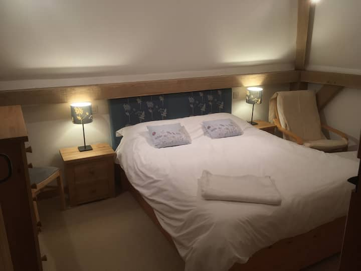 Comfortable ensuite bedroom in country cottage