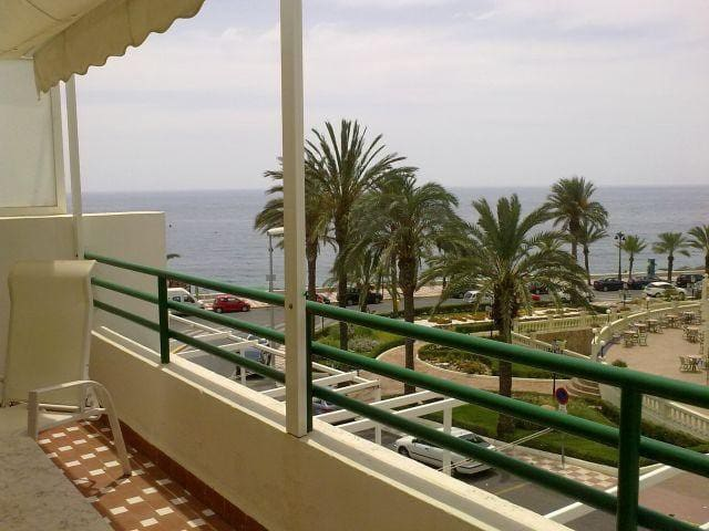 Apartamento 1ª linea de playa-piscina comunitaria- - Aguadulce - Apartment