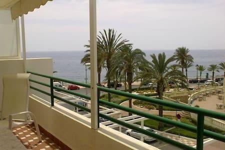 Apartamento 1ª linea de playa-piscina comunitaria- - Aguadulce - 公寓