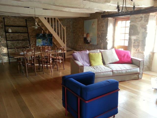Belle Maison calme sur le Causse entre Célé et Lot - Brengues - Villa