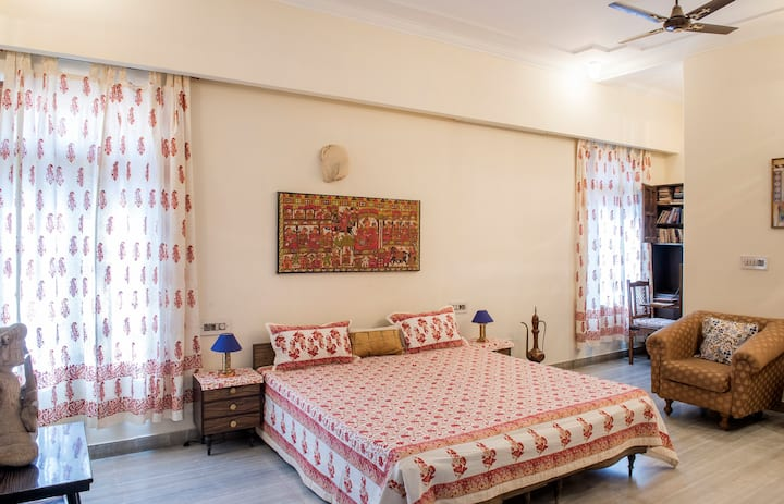 Luxurious Terrace Room *Tranquility*@ Kalpyog