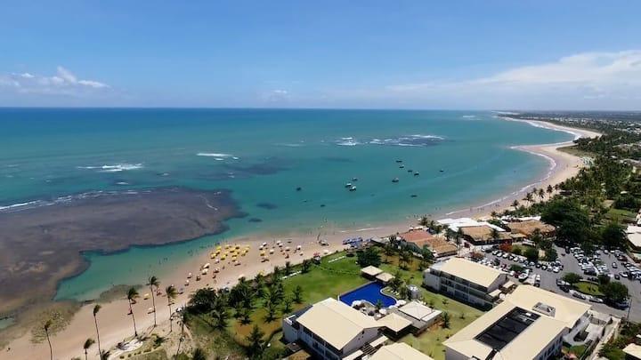 Cond. Paraíso dos Corais Guarajuba frente à praia!