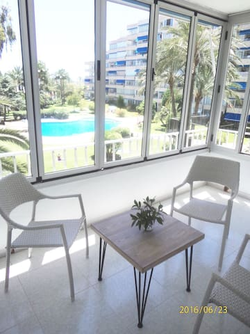 APARTMENT IN PUERTO PORTALS WHITH POOL