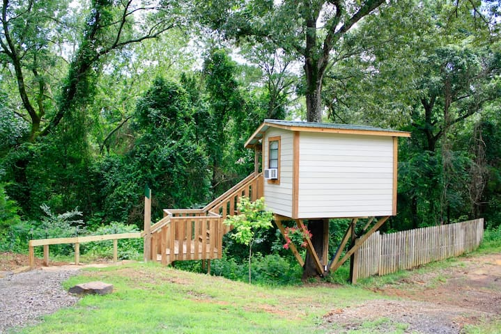 Tiny Home in the Trees   Treehouse Valley