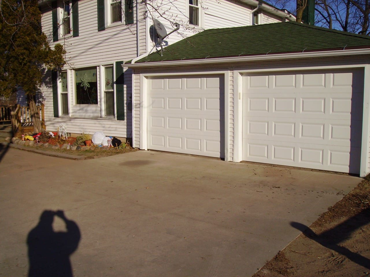 Front of lower unit of duplex